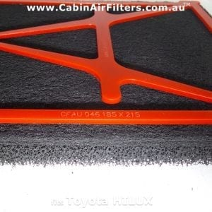Toyota Hilux cabin air filter