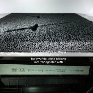 Hyundai Kona electric cabin air filter,hyundai kona electric cabin air pollen filter CAFA1027HKE