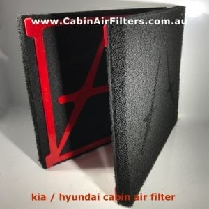 cabin air filter kia hyundai