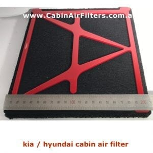 kia hyundai cabin air filter