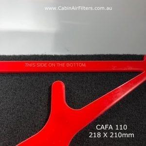 cabin air filter ,cabin air pollen filter, cabin airconditioner filter CAFA110