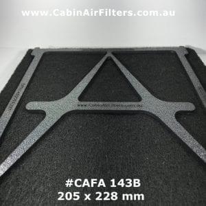 holden Barina cabin air filter