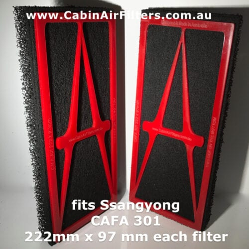 ssangyong cabin air filter