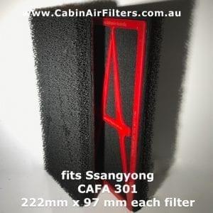 ssangyong cabin air filter, cabin air filter ssangyong,ssangyong cabin pollen air filter