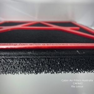 Lexus cabin air filter, Lexus cabin air pollen filter