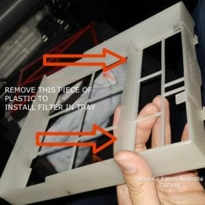 mazda cx cabin air filter