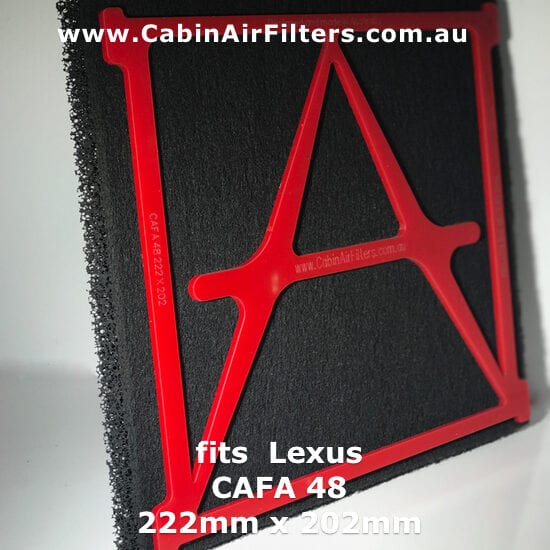Lexus Cabin air filter,LEXUS GSF CABIN AIR POLLEN FILTER