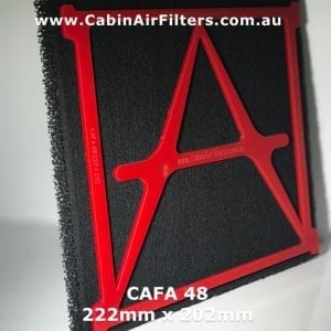 Nissan cabin air filter, nissan cabin air pollen filter, nissan air-conditioner filter, CAFA48