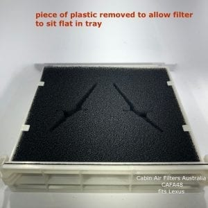 CAFA48 lexus cabin air filter