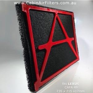 lexus cabin air filter