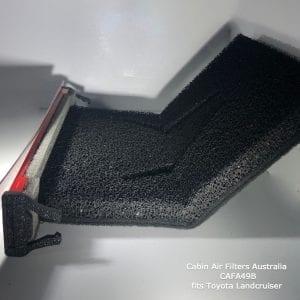 Toyota Landcruiser VDJ series cabin air filter,toyota lancruiser vdi cabin air pollen filter
