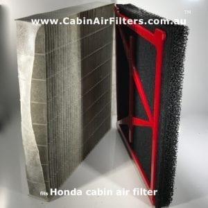 Honda cabin air filter, honda cabin air pollen filter.