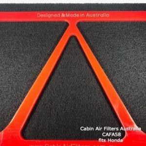 Honda cabin air filter,hondacabin air pollen filter,CAFA58