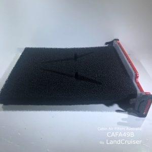Toyota Landcruiser cabin air filter