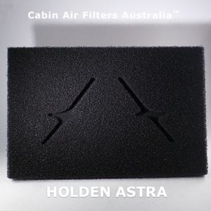 HOLDEN ASTRA CABIN AIR FILTER