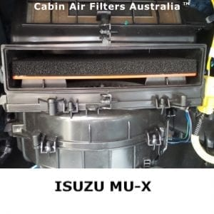 ISUZU MUX CABIN AIR FILTER