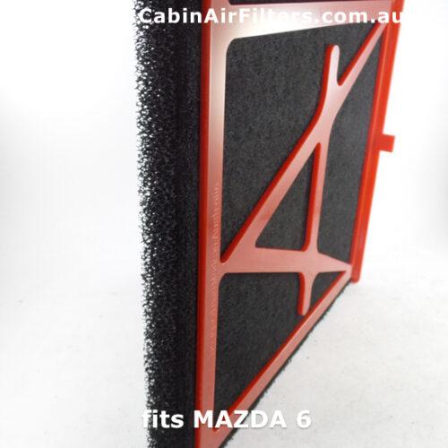 MAZDA6 ,cabin air filter, cabin pollen filter,airconditioner filter, car airconditioner filter,