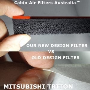 Mitsubishi Triton Cabin Air Filter