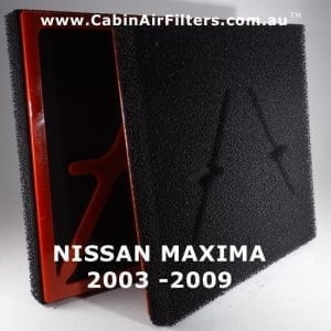 NISSAN MAXIMA Cabin Air Filter
