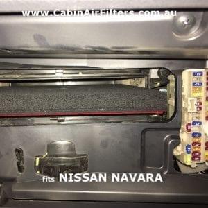 NISSAN NAVARA NP300 cabin air filter