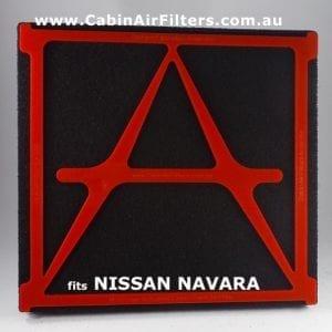 NISSAN NAVARA  NP300 cabin filter