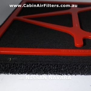 NISSAN NAVARA NP300 cabin air filter