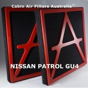NISSAN PATROL CABIN AIR FILTER