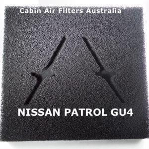 NISSAN PATROL  CABIN FILTER