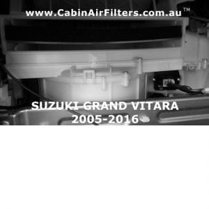 SUZUKI GRAND  VITARA CABIN AIR FLTER