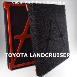 TOYOTA LANCRUISE CABIN AIR FILTER