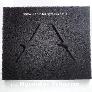 hyundai tiburon  cabin air filter