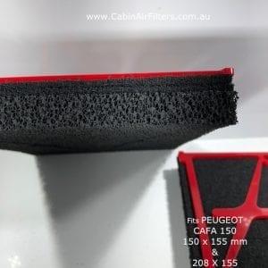 peugeot cabin air filter 11