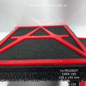 peugeot cabin air filter 12