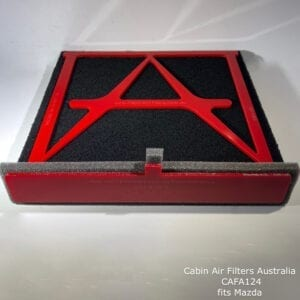 mazda cabin air filter ,mazda cabin air pollen filter,CAFA124