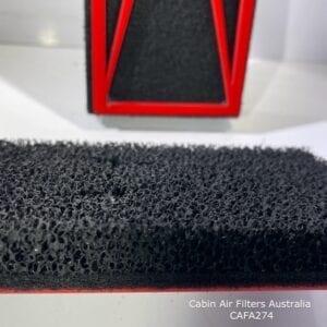 Jeep Wrangler cabin air filter, jeep wrangler cabin air pollen filter,cafa274