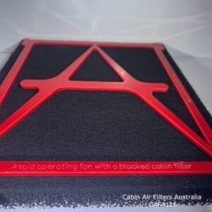Mazda BT50 cabin air filter, CAFA116MB,Mazda bt50 cabin air pollen filter